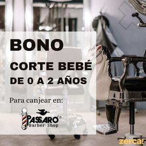 Bono corte bebé de 0 a 2 años para CANJEAR EN PASSARÓ PASEO ROSALES