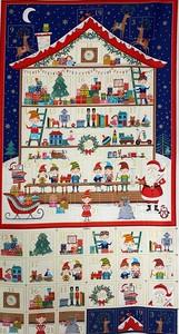 Panel patchwork calendario navideño 2227