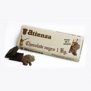 Chocolate negro 68% 1Kg Atienza
