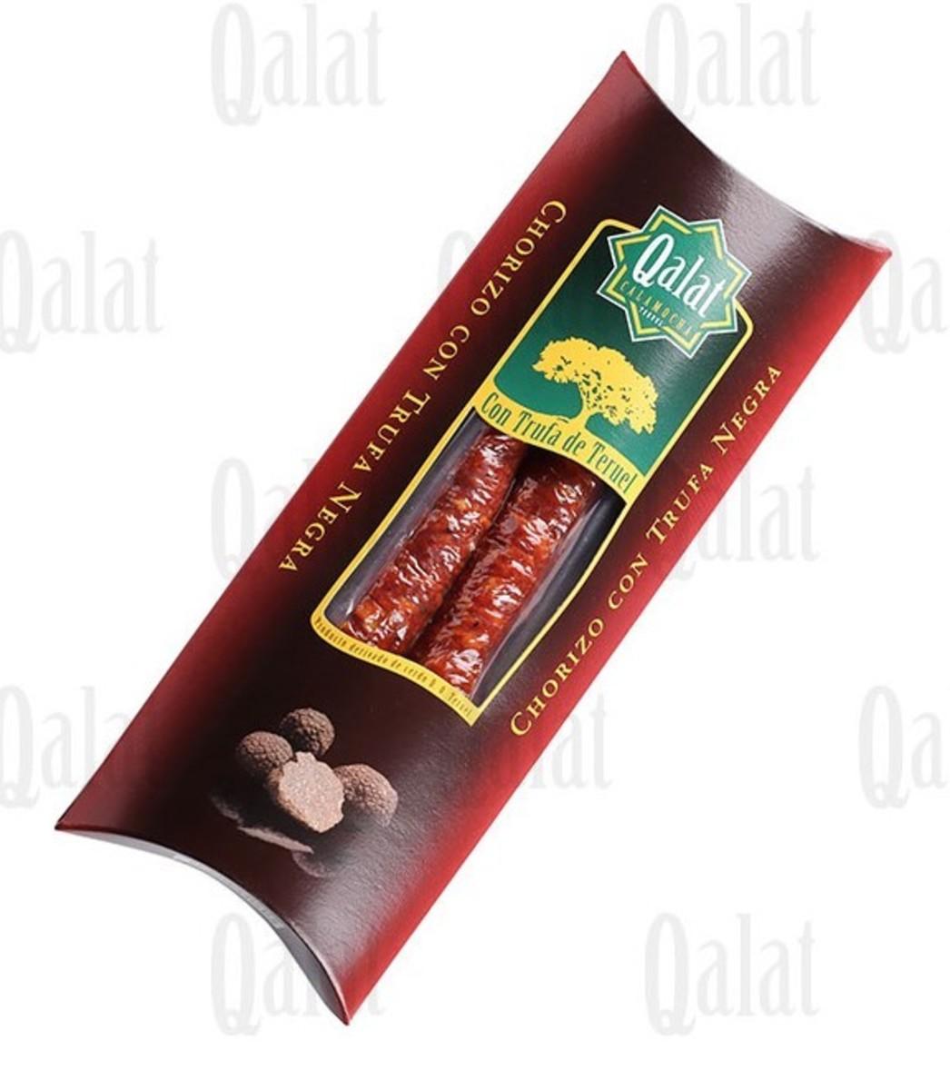 Chorizo con trufa negra Qalat