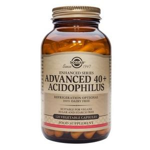 40+Acidofilus Avanzado 60 Cap Veg Solgar