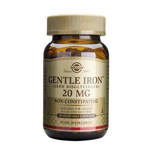 Hierro Gentle 20 Mg 90 Comprimidos Solgar