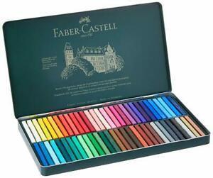 Caja 60 Barras Pastel Faber-Castell