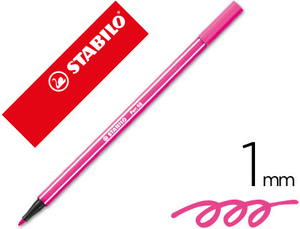 Rotulador Stabilo Acuarelable Pen 68 Rosa 1 Mm