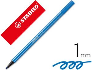 Rotulador Stabilo Acuarelable Pen 68 Azul Marino Ultramar 1 Mm