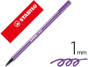 Rotulador Stabilo Acuarelable Pen 68 Violeta 1 Mm