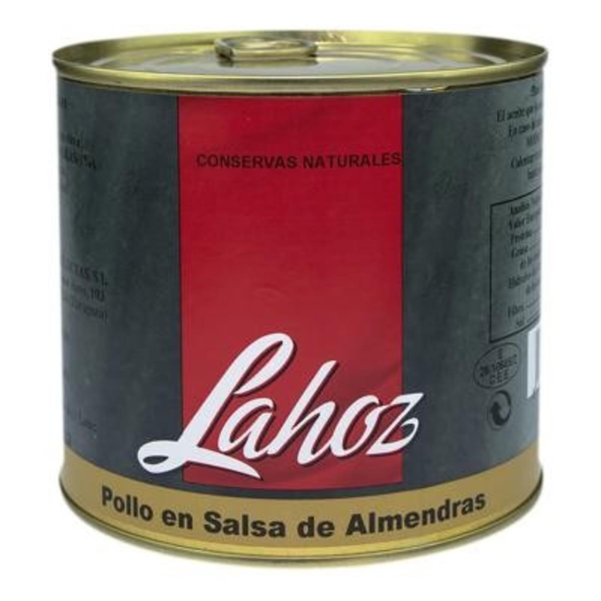 Pollo en salsa de almendras Lahoz