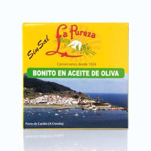 Bonito en aceite de oliva SIN SAL La Pureza