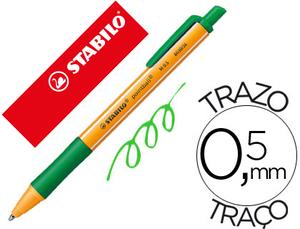 Boligrafo Stabilo Pointball 0,5 mm Color Verde