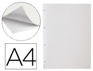 Pack de 20: Hoja Album Liderpapel Autoadhesiva Blanca