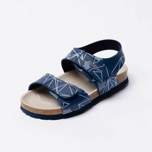Sandalia de Belcro Azul