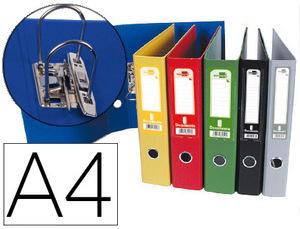 Pack de 12: Archivador De Palanca Liderpapel A4 Documenta Forrado Pvc Con Rado Lomo 52 Mm Colores Surtidos Classic