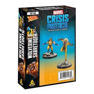Crisis Protocol Wolverine & Sabretooth En