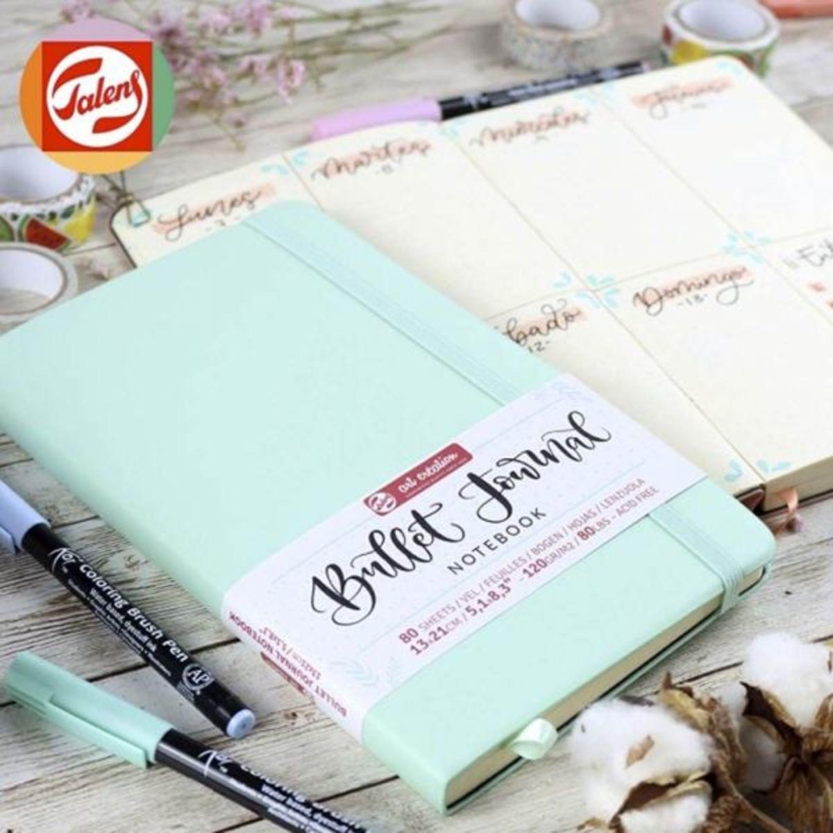 Set Bullet Journal Azul Pastel