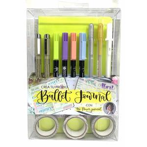 Set Bullet Journal Verde Pastel