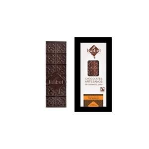 Chocolate negro con naranja Isabel