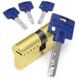 Cilindro seguridad Mul-t-Lock 31x31 latón