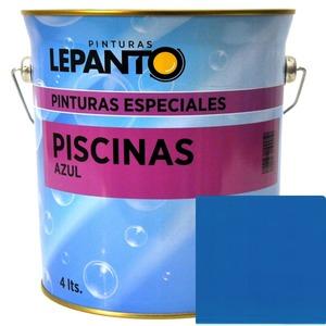 Pintura piscina 4 lts. azul Lepanto