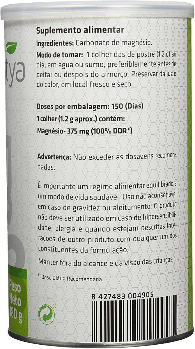 Carbonato de Magnesio Sabor Neutro 180 g de Sotya