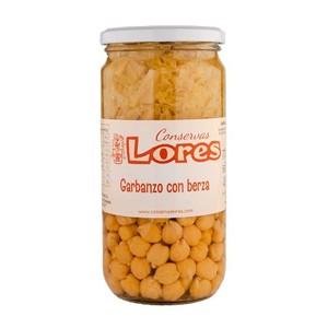 Garbanzo Con Berza Conservas Lores