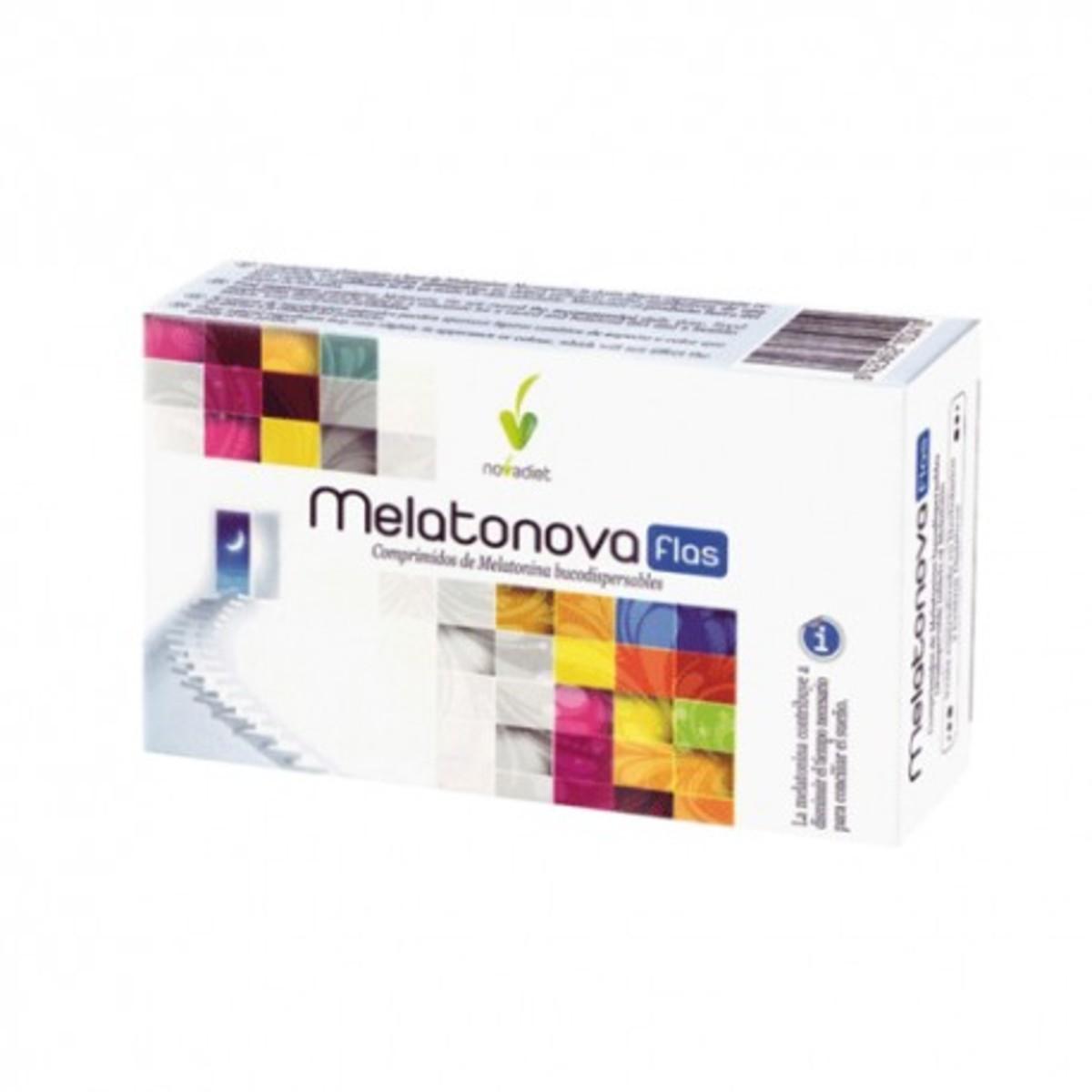 Melatonova Flas 30 comprimidos de Novadiet