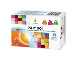Novadiet Sunsol 30 cápsulas