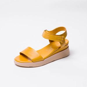 Sandalia con Plataforma Amarilla