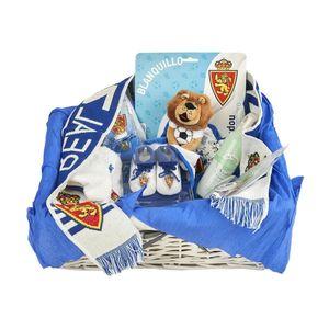 Cesta recién nacido azul (personalizable)