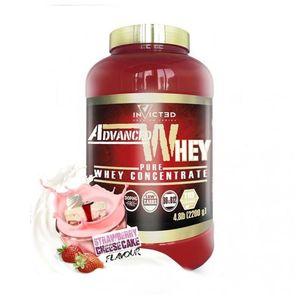 Advanced Whey - Fresa Cheesecake - 2200g - Invicted