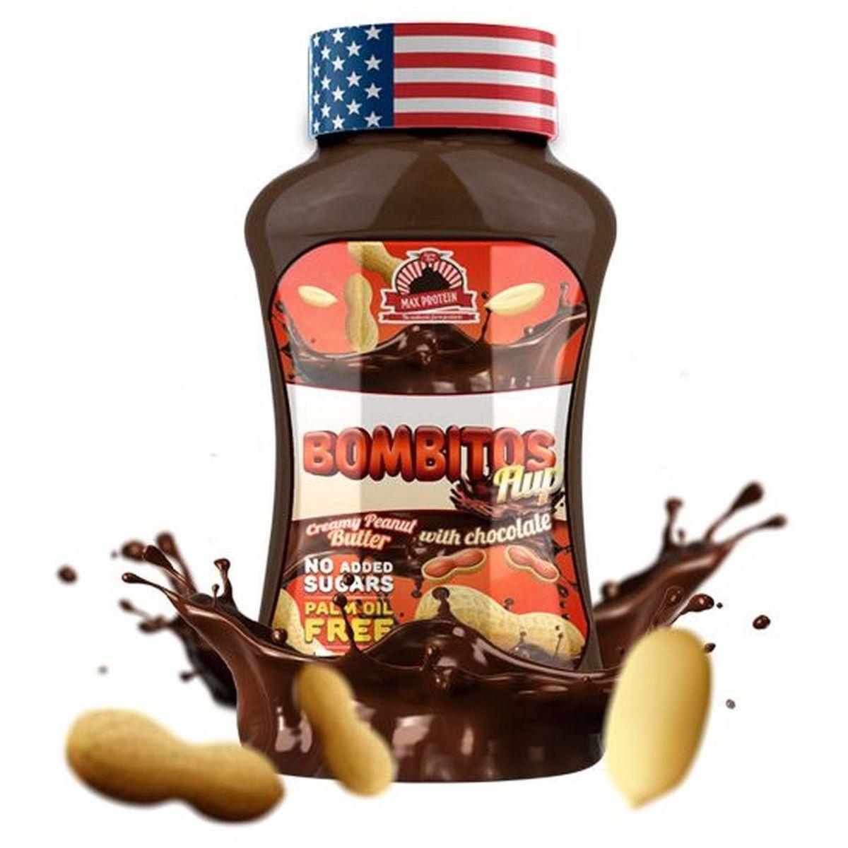 Sirope de Crema de Cacahuete con Chocolate - Max Protein - 450g
