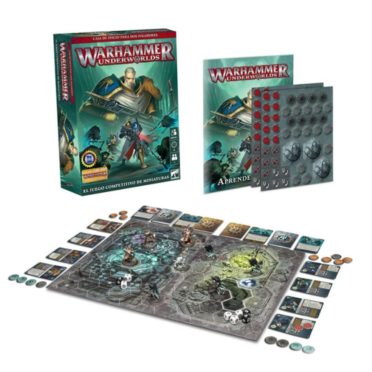 Warhammer Underworlds - Caja De Incio Para 2 Jugadores