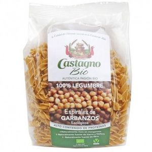 Espirales 100% harina de garbanzo Castagno