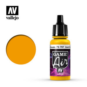Pintura Game Air - Amarillo Dorado 17ml