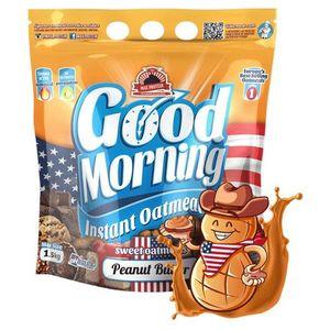 Harina de Avena - Peanut Butter - Good Morning Max Protein - 1,5kg