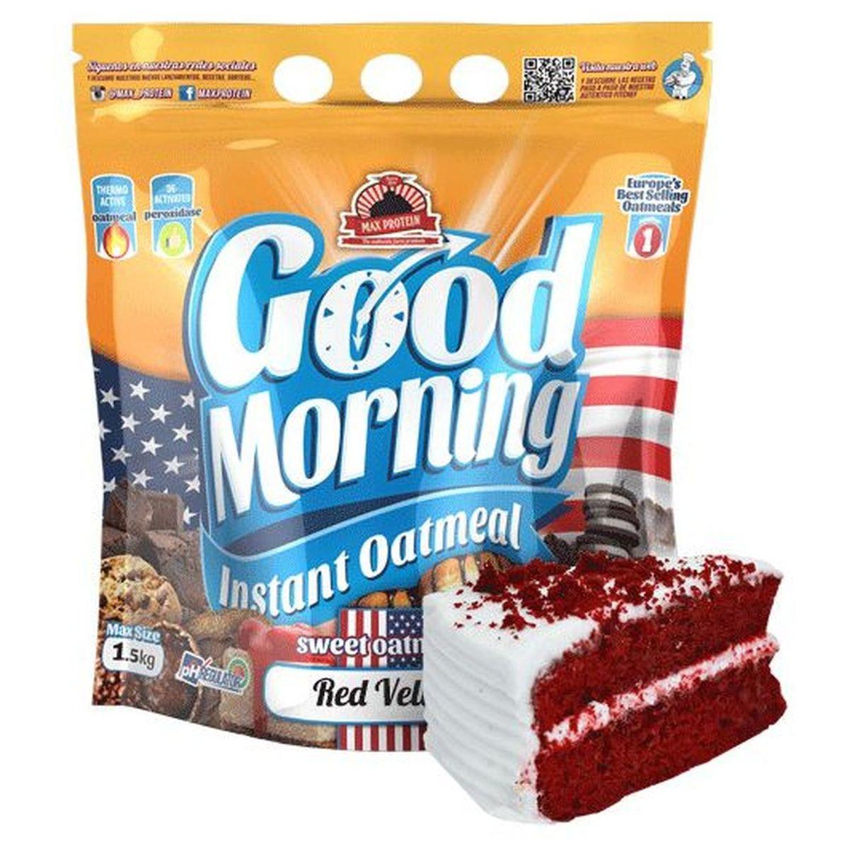 Harina de Avena - Red Velvet - Good Morning Max Protein - 1,5kg