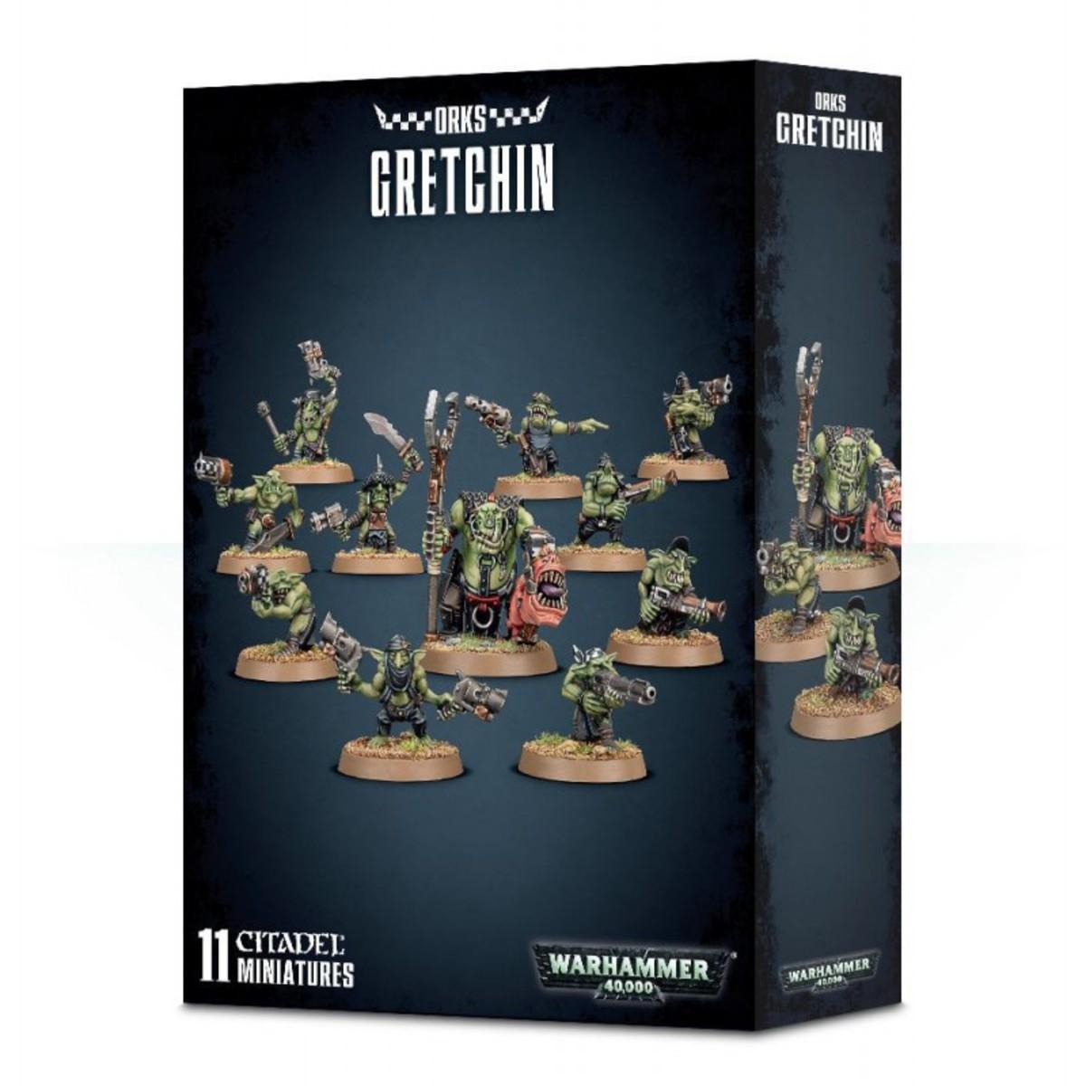 Warhammer - Orks Gretchin