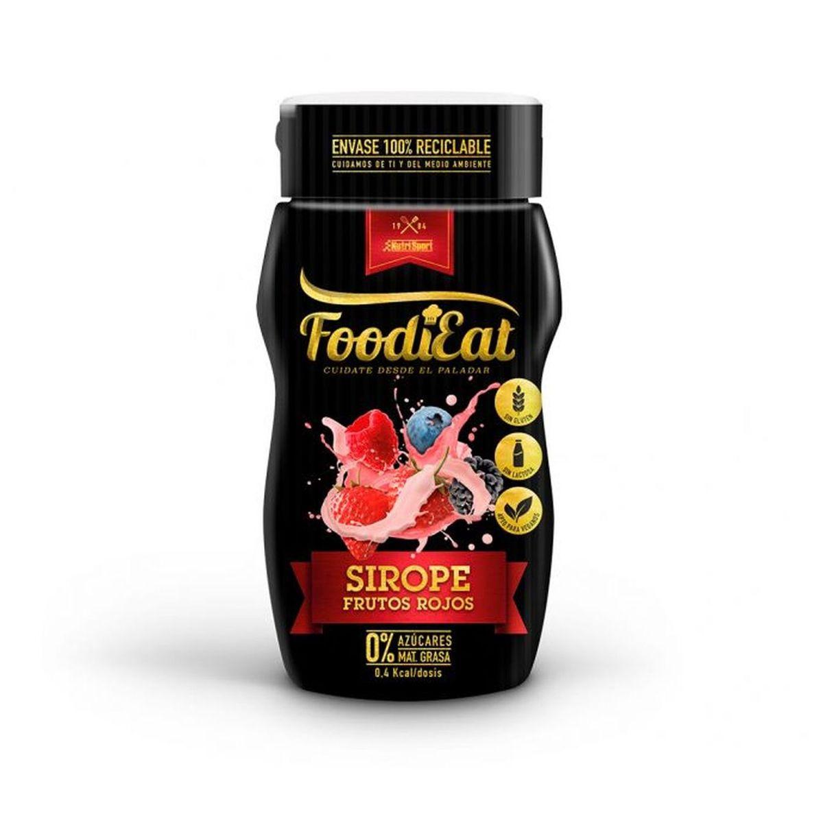 FoodiEat - Sirope Frutos Rojos - 290g