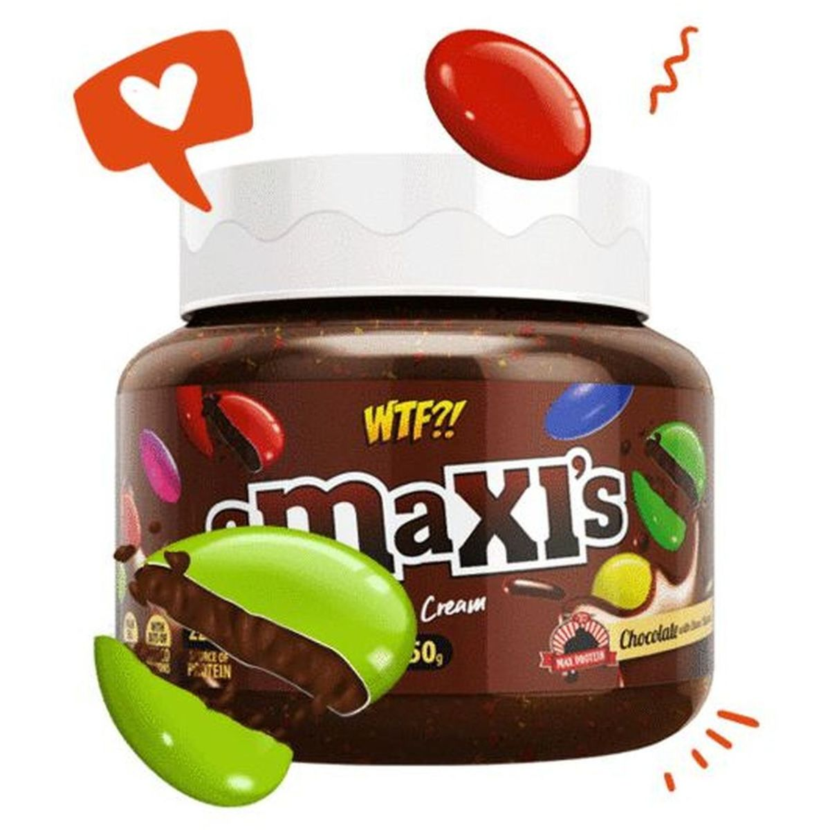 WTF - Smaxis Chocomilk - 250g