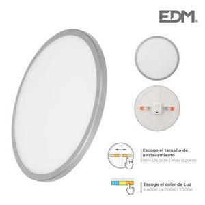 Downlight Led Marco Cromo Mate 20W