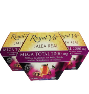 Pack (3 uds) Royal Vit Mega Total 2000 mg DIETISA