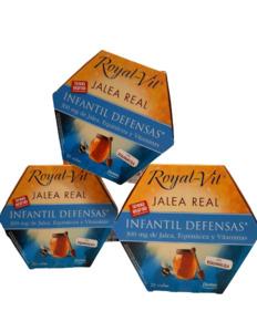 Pack (3 uds.) ROYAL VIT Jalea Real Infantil DIETISA