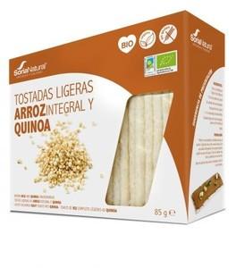 TOSTADAS ARROZ QUINOA 85GR (Soria Natural)
