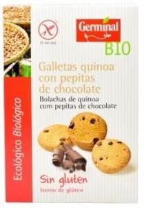 GALLETAS QUINOA CACAO Y GOTAS 250GR (Germinal)