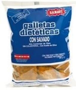 GALLETAS SALVADO 300GR (Sanavi)