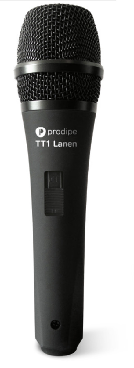 PRODIPE MICROFONO DINAMICO VOCAL TT-1 LANEN