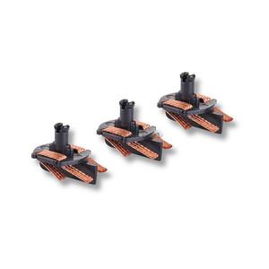 Guia con Trencillas, 3 Unidades, Escala 1/32. Marca Scalextric, Ref: A10281X400.