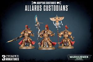 Allarus Custodians - Warhammer 40.000