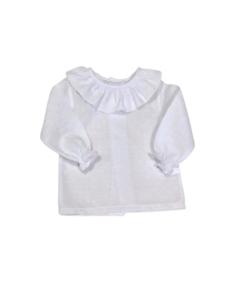Blusa bebé plumeti blanco