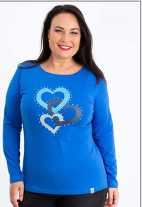 Camiseta algodón tacha