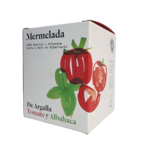 MERMELADA DE TOMATE Y ALBAHACA